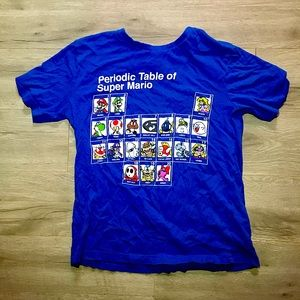 Super Mario Boys shirt